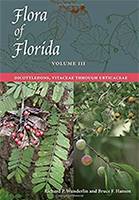 Flora of Florida, Volume III: Dicotyledons, Vitaceae through Urticaceae